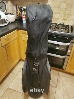 2020 MOTOCADDY DRY SERIES CART BAG 14 Way full length Grey/Blue excellent