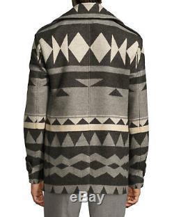$3,995 Ralph Lauren Purple Label Mens Italy Wool Beacon Pea Coat Peacoat Jacket