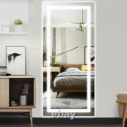 70CM x 150CM Large LED Full Length Backlit Mirror- Oversized Dressing Mirror