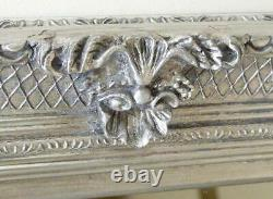 Abbey Large Full Length Shabby Chic Vintage Leaner Mirror Silver 32 X 68