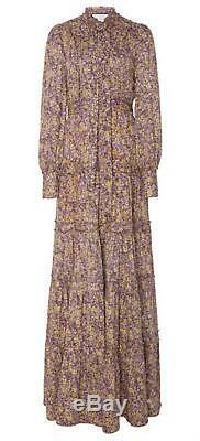 Alexis Margeaux Floral Print Maxi Dress Large