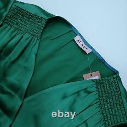 Attico Women's Maxi Dress L Colour Green