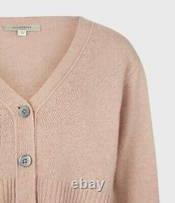 BNWT AllSaints Andrea 2-in-1 Dress in Rose Pink Sizes S-L RRP £229