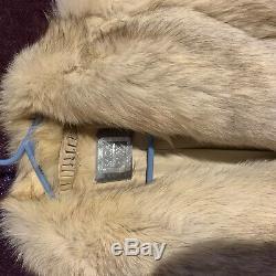 Beautiful Full Length SAGA Fox Fur Coat
