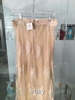 Chasing Unicorns Head In The Clouds Maxi Skirt-New With Tags