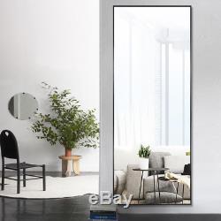 Elegant/Modern Large Full-length Floor Mirror Standing Leaning or Hanging In Liv