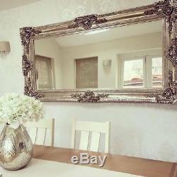Ella Ornate Full Length Large Vintage Floor/Wall Mirror 72 x 36 (180cm x 90cm)