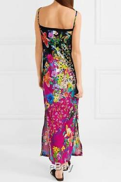 Etro Floral-print Crepe De Chine Maxi Dress It 44 Uk 12