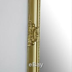Extra, Extra Large Ornate Gold Full Length Wall/Floor Mirror vintage shabby chic