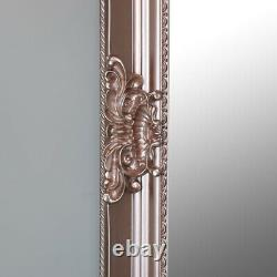 Extra, Extra Large Ornate Rose Gold Pink Full Length Wall Floor Mirror decor