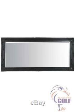 Extra Large Antique Full Length Ornate Styled Black Mirror 5Ft7 X 2Ft7, 170X79cm