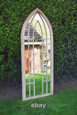 Extra Large Garden SomerleyArch Metal Full Length Mirror Long 190 x 75CM
