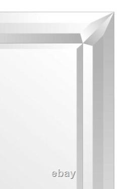 Extra Large Wall Mirror Full Length Silver Long 5FT5 x 2FT7 165cm x 78cm