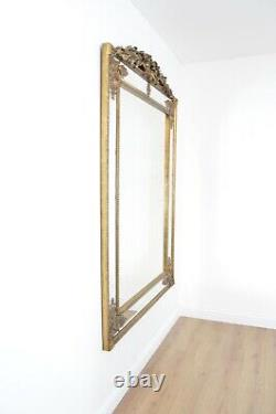 Extra Large Wall Mirror Gold Ornate Vintage Full Length 6Ft4x4Ft6 192cm X 134cm