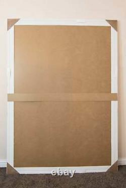 Extra Large Wall Mirror Ivory Antique Vintage Full Length 6Ft7x4Ft7 201 x 140cm