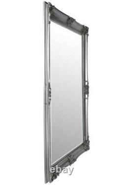Extra Large Wall Mirror Silver Decorative Antique Full Length 7ftx5ft 213x152cm