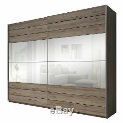 Extra Large Wardrobe Sliding Door 3 Sizes Closet Big Mirror 200cm 220cm 270cm