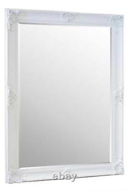 Extra Large White Full Length Long Leaner Wall Mirror 7ft x 5ft 213 x 152cm