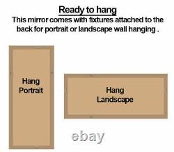 Florence Full Length Gold Ornate Leaner Wall Hanging Mirror 163cm x 72cm