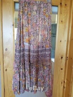 Free People Spell and The Gypsy Rose/Tyrie Tiered Floral Skirt NWT L