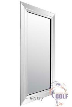 Full Length All Mirror Glass Leaner Modern Wall Mirror 5ft9 x 2ft9 174cm x 85cm