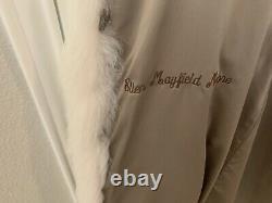 Full Length Lynx and Fox Fur Coat