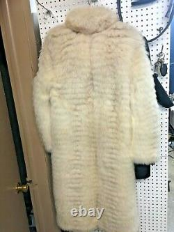 Full Length White Fur Coat