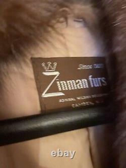 Full length Crystal Fox Fur Coat