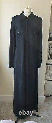GUCCI TOM FORD FALL 1996 BLACK LONG DRESS Size L