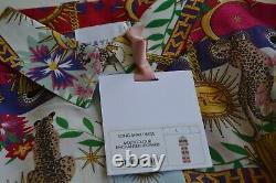 Hayley Menzies PURE SILK long Maxi Shirt Dress Size LARGE NEW Stunning