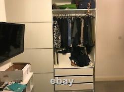 Ikea Pax Wardrobe, large with sliding doors