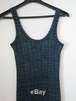 JEAN PAUL GAULTIER CLASSIC stunning long Tatoo mesh dress Rare