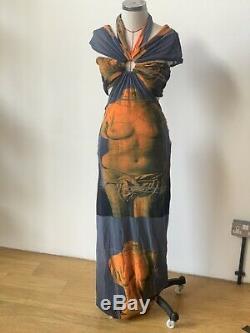 Jean Paul Gaultier Vintage Dress Venus De Milo Print