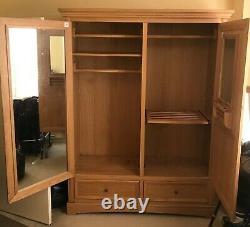 John Lewis Richmond Oak Large Wardrobe (Very Good Condition Used)
