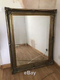 Large Antique Replica Design Full Length Bronze Mirror H150cm x W115cm