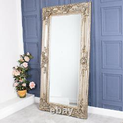 Large Champagne Ornate Mirror Heavily Full Length Wall Home Decor 180cm x 90cm