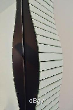 Large Stunning All Mirror Glass Full Length Mirror 6ft7 x 3ft 201cm x 92cm