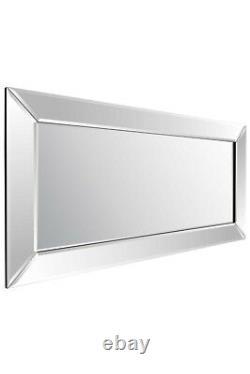 Large Venetian Full Length Long Leaner Wall Mirror 5Ft9 X 2F9 174cm x 85cm