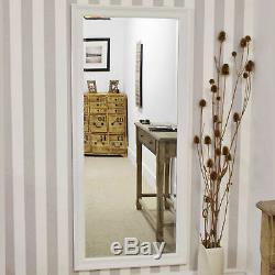 Large Wall Mirror Antique Design Full Length Cream 5ft3 x 2ft5 163m x 73cm