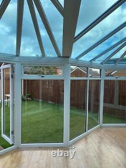 Large full length Upvc conservatory No. 24WN