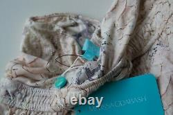 MELISSA ODABASH ANIMAL PRINT MAXI BANDEAU DRESS STUNNING NEW AUTHENTIC Large