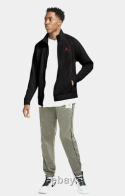 Mens Nike Air Jordan Jumpman Tracksuit SET MJ 23 AJ FZ Track Jacket & Bottoms