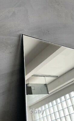 NEW Large Full Length Frameless Leaner Mirror × 1