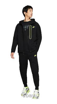 NEW Mens Nike Tech Volt Sherpa Fleece Tracksuit SET Hoodie & Joggers Large LTDED