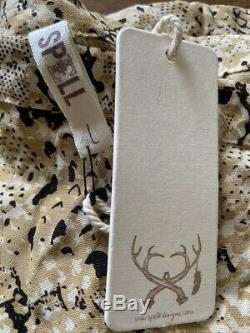 NWT Spell & The Gypsy Collective Designs Aloha Python Snake Print Maxi Skirt L