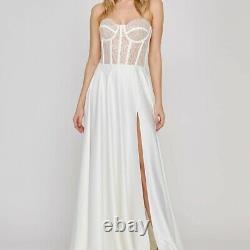 Nadine Merabi Ariella Dress Size Large (Size 12/14) New RRP £495