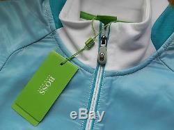 New Hugo Boss Mens White Golf Pro Smart Tracksuit Top Sweatshirt Jumper Large