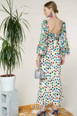 New Rixo Gio Tulip Midi Dress Size XS M L XL