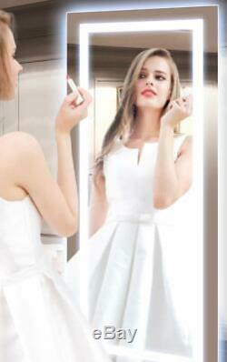 PHILWIN 55x120CM Large LED Full Length Backlit Mirror- Oversized Dressing Mirror