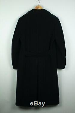 Polo Ralph Lauren Double Breasted Full Length Military Wool Coat Overcoat L RRL